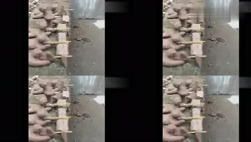 泥巴哥工厂,泥巴哥打了一场漂亮的伏击战,敌人被炸得落荒而逃