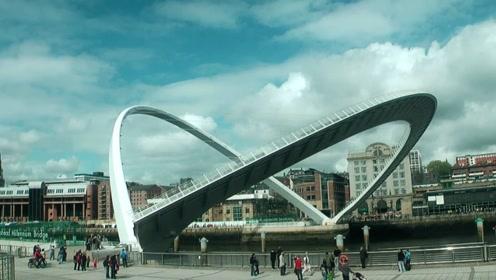 世界上唯一可以旋转的桥梁:开通3天就被停用,网友:真敢造!