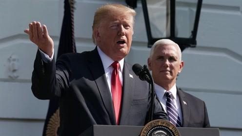 """""""我们的问题不在于中国"""",这句话特朗普又说了一次……"""