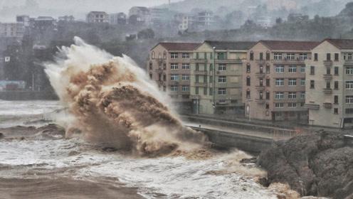 """17级""""利奇马""""台风有多恐怖?镜头记录全过程,看完双腿发软!"""