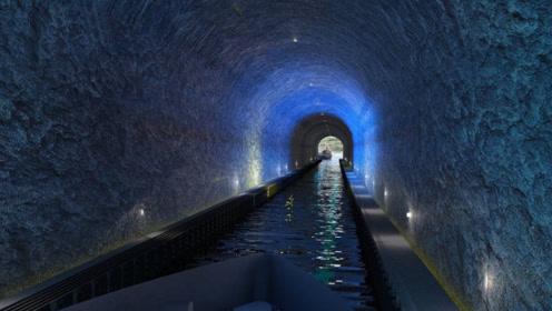 世界上首条船舶隧道,造价高达22亿,建成或将降低海难发生几率