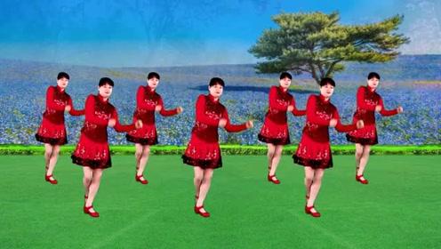 广场舞《老妹你真美》基础入门16步,俏皮的秧歌风