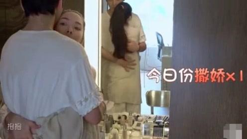向佐忍不住去抱郭碧婷,谁注意他手的位置,网友:还录节目呢