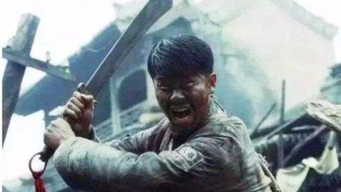 战场上,川军大刀勇士肉搏战,一刀竟就砍断了鬼子握枪的手