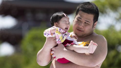日本长得很普通的相扑运动员,为何美女愿意嫁给他们?原因很现实