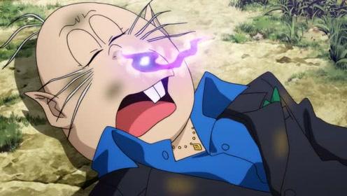 咯咯咯的鬼太郎-食尸男被眼球老爹的年糕杀打败帮鬼太郎夺回身体