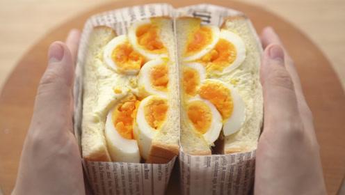这样的魔鬼蛋三明治,保你吃得渣都不剩!