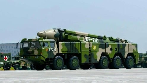 走进火箭军神秘单位,9枚东风21D高高竖起,直指长空真霸气