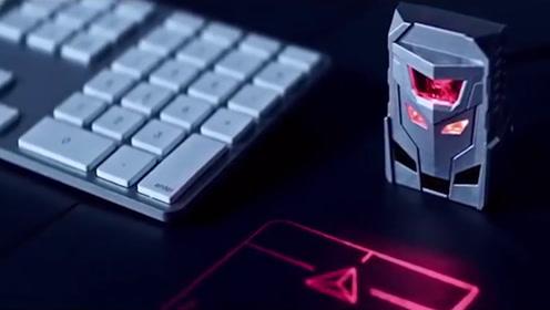 """世界上首款激光投影鼠标,用手指就能轻松操控,摆脱""""鼠标手"""""""