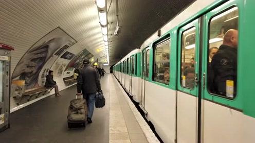 巴黎地铁日常实拍:一个平凡但温暖的晨间