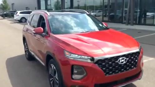 新提的2019款现代胜达,打开车门坐进驾驶室那刻,觉得买值了