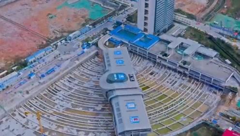 中国基建又创纪录!3万吨汽车站旋转90度看呆海外网友