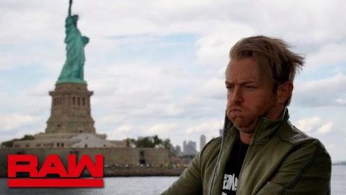 RAW1372期 德瑞克没有找到二柱子 倒是把纽约玩了个遍