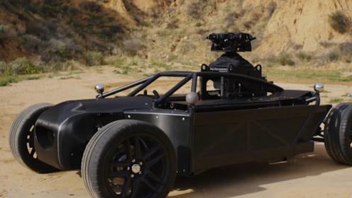 为什么电影中的豪车不怕撞?见识下专为豪车做替身的车,简直无敌
