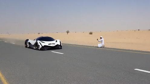 号称零百加速只需1.8秒的迪拜超跑,看到实测后真是笑了!
