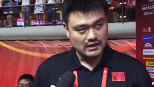 篮球世界杯,中国男篮无希望进奥运会,姚明一个字回应!