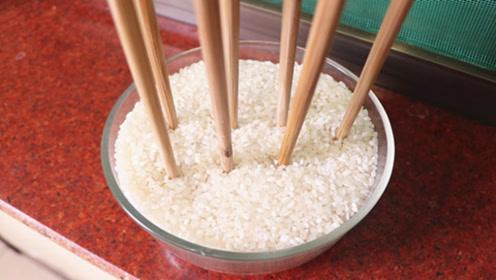 赶紧把筷子插大米里,简直厉害了,不是迷信,解决全家人的大难题