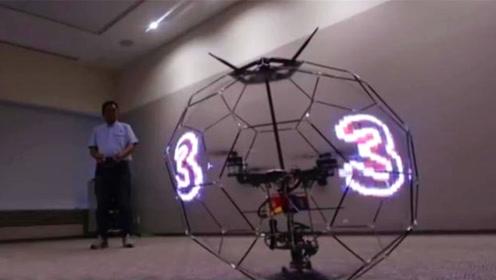 日本研发出会飞行的显示器,是3D显示效果,将成为新发财利器
