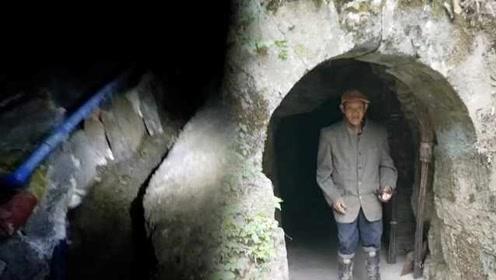 废煤窑洞现清泉,供上千人免费饮用:比矿泉水好喝