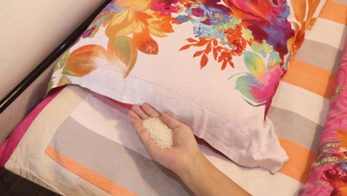 赶紧在枕头下放一把大米,原来这么厉害,后悔才知道,太实用了