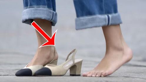 香奈儿多娇贵?宁愿光脚也不能弄脏鞋子!网友:供着才是硬道理