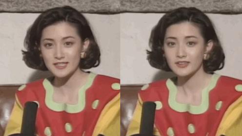 """""""大长今""""李英爱27年前采访画面,五官精致青涩灵动从小美到大"""