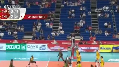 李盈莹22分 中国女排取得两连胜