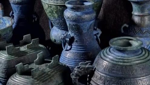 现场!被成功追索回国的曾伯克父青铜组器在中国国家博物馆亮相