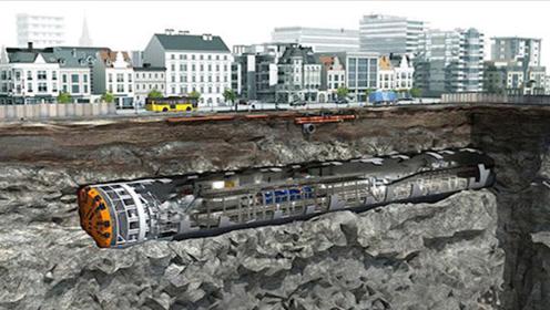 城市下面修地铁时,遇到楼房地基该怎么办?工程队长回答太爽快!