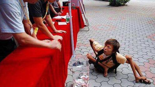 汶川地震那个捐款185元的18岁乞丐,现在怎么样了?看完羡慕