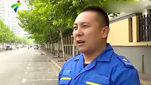 广西防城港雨夜积水没路 二人疑触电身亡