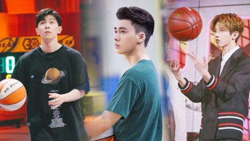 李易峰邓伦蔡徐坤,他们都是篮球场上最帅的仔!