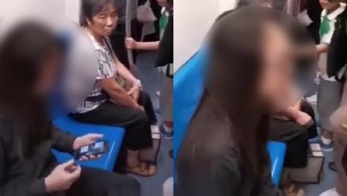 丢人!网曝知名4A公司高管地铁偷拍女生裙底,被抓后恳求:别报警