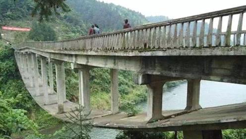 中国第一座悬空大桥,30年都不垮,设计师只有初中文化