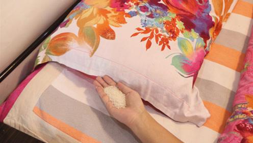 抓紧给枕头下放一把大米,真是太厉害了,不是迷信,后悔知道晚了