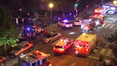 美国白宫附近发生枪击事件致1死5伤 警方正在追捕嫌犯