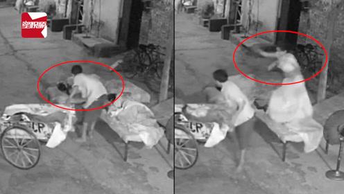 人贩趁一家人屋外熟睡抱走4岁女童,母亲触电般惊醒:一把夺回