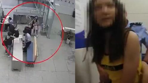 """女子携危险品进站威胁民警:""""你完了!"""" 警方硬核执法拘留5日"""