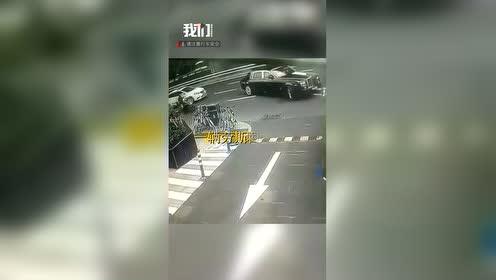 外卖骑手撞上劳斯莱斯 豪车方回应:已妥善处理