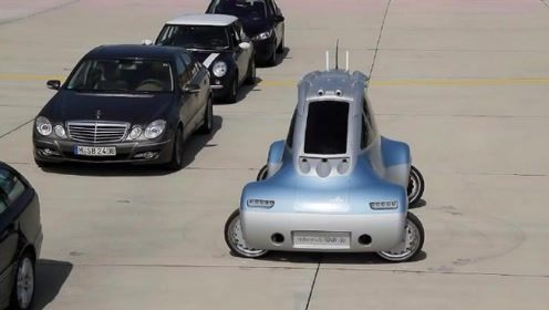 """德国发明""""螃蟹""""汽车,360度任意旋转,再也不怕停车停不进去"""
