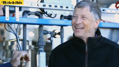 离开微软的比尔盖茨在干什么?研究粪便和马桶
