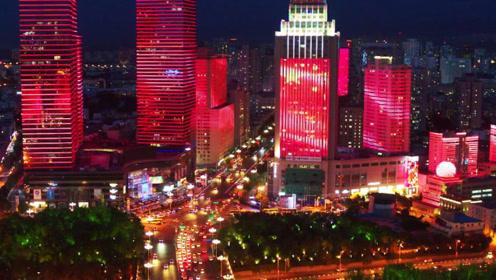 乌鲁木齐晚上不睡觉,这个阵势不是一般的大,厉害了我的中国!
