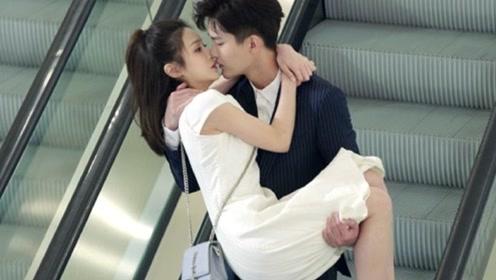 """壁咚强吻太老套?看到熊梓淇的""""电梯吻""""后,网友:这也太会了!"""