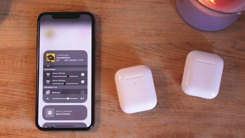 iOS 13.1新功能:苹果手机能同时连接两对AirPods