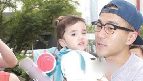 离婚后刘恺威再次探班杨幂,小糯米首次见到妈妈的反应,让人意外
