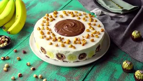 巧克力蛋糕吃出新花样,用这个方法制作,家里大人小孩都爱吃!