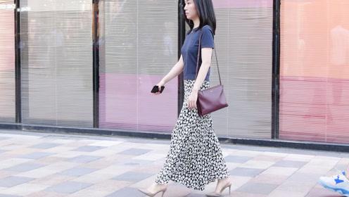 初秋时节穿上高跟鞋,让搭配变得更漂亮,身材更有型还显气质