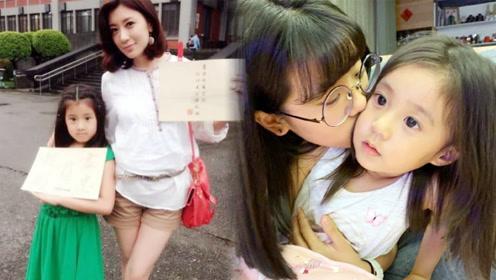 梧桐妹为贾静雯庆生,晒出幼年照片,这不就是长大后的咘咘吗?