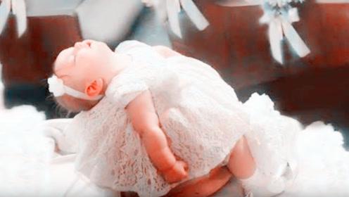 1岁宝宝当花童,不料出场的一瞬间,现场所有人都笑惨了
