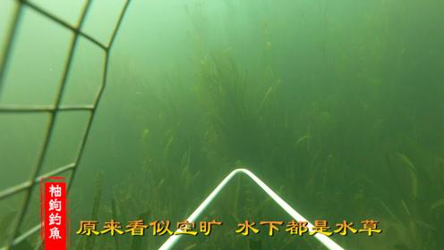 秋季钓鱼选钓位的常见误区,看看水下相机拍摄的记录你就懂了